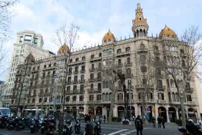 Espace commercial à Barcelone dans le quartier central de l'Eixample